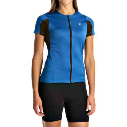 Pearl Izumi SELECT Cycling Jersey - UPF 50+, Short Sleeve (For Women) in Sky Blue - Closeouts