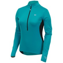 Pearl Izumi Select Cycling Jersey - Zip Neck, Long Sleeve (For Women) in Peacock - Closeouts