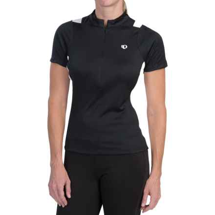 Pearl Izumi SELECT Cycling Jersey - Zip Neck, Short Sleeve (For Women) in Black - Closeouts