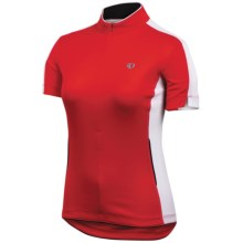 Pearl Izumi Select Cycling Jersey - Zip Neck, Short Sleeve (For Women) in True Red - Closeouts