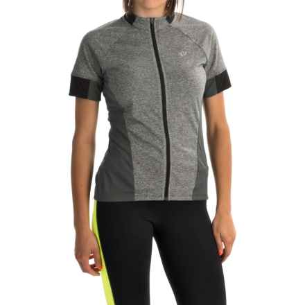 Pearl Izumi SELECT Escape Cycling Jersey - Full Zip, Short Sleeve (For Women) in Shadow Grey - Closeouts