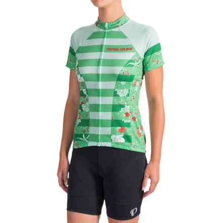 Pearl Izumi SELECT Escape LTD Cycling Jersey - Full Zip, Short Sleeve (For Women) in Muse Green Spruce - Closeouts