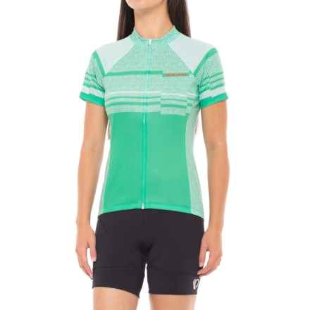 Pearl Izumi SELECT Escape LTD Cycling Jersey - Full Zip, Short Sleeve (For Women) in Wander Green Spruce - Closeouts