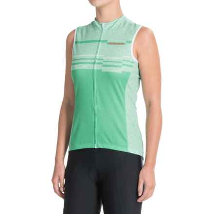 Pearl Izumi SELECT Escape LTD Cycling Jersey - UPF 40+, Full Zip, Sleeveless (For Women) in Wander Green Spruce - Closeouts