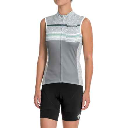 Pearl Izumi SELECT Escape LTD Cycling Jersey - UPF 40+, Full Zip, Sleeveless (For Women) in Wander Smoked Pearl - Closeouts
