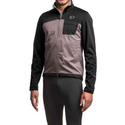 Pearl Izumi SELECT Escape Soft Shell Cycling Jacket (For Men) in Black/Smoked Pearl - Closeouts