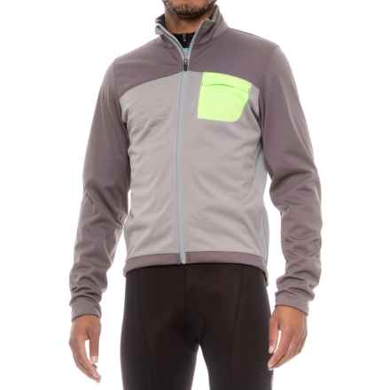 Pearl Izumi SELECT Escape Soft Shell Cycling Jacket (For Men) in Smoked Pearl/Monument - Closeouts