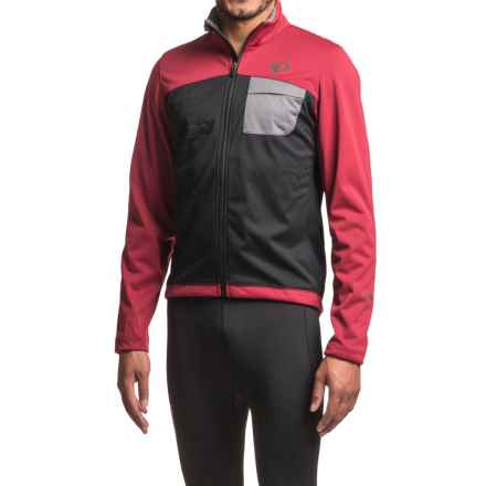 Pearl Izumi SELECT Escape Soft Shell Cycling Jacket (For Men) in Tibetan Red/Black - Closeouts
