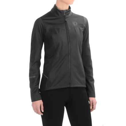 Pearl Izumi SELECT Escape Soft Shell Cycling Jacket (For Women) in Black - Closeouts