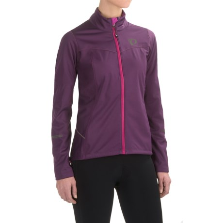 Pearl Izumi SELECT Escape Soft Shell Cycling Jacket (For Women) in Wineberry