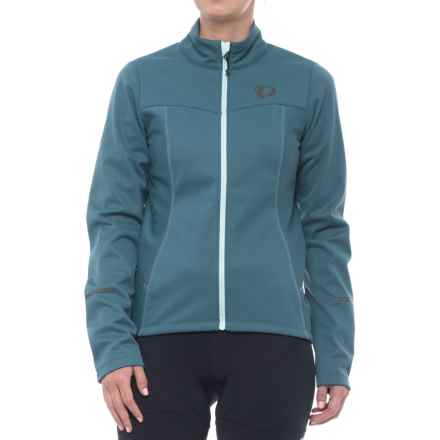 Pearl Izumi SELECT Escape Soft Shell Cycling Jacket - Full Zip (For Women) in Blue Steel - Closeouts