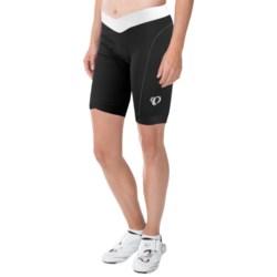 Pearl Izumi SELECT In-R-Cool® Bike Shorts - UPF 50+ (For Women) in Black/White
