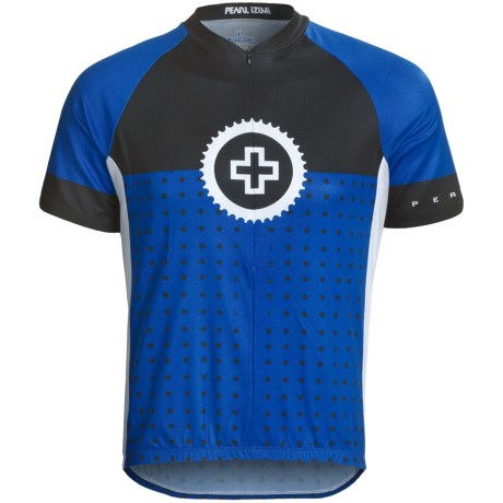 Pearl Izumi Select Limited Jersey - Zip Neck, Short Sleeve (For Men) in Binary True Blue