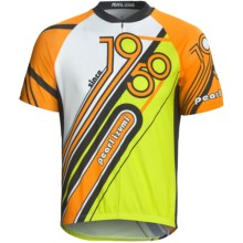 Pearl Izumi Select Limited Jersey - Zip Neck, Short Sleeve (For Men) in Safety Orange - Closeouts