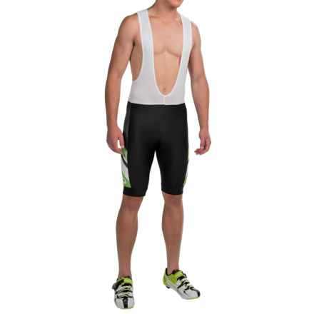 Pearl Izumi SELECT LTD Bib Bike Shorts - UPF 50+ (For Men) in Select Tm Viz - Closeouts