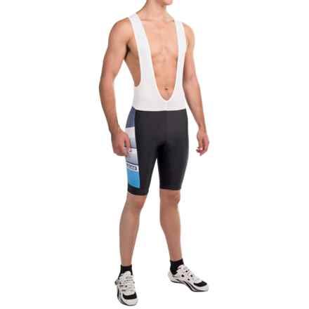 Pearl Izumi SELECT LTD Bib Bike Shorts - UPF 50+ (For Men) in Splitz Blue X 2 - Closeouts