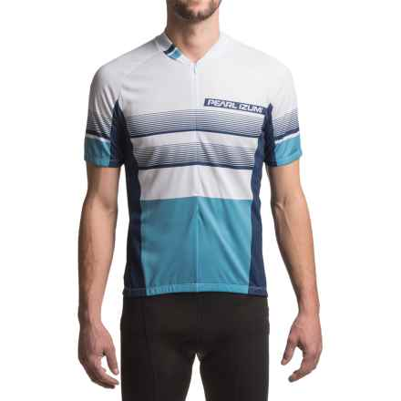 Pearl Izumi SELECT LTD Cycling Jersey - UPF 50+, Short Sleeve (For Men) in Splitz Blue X 2 - Closeouts