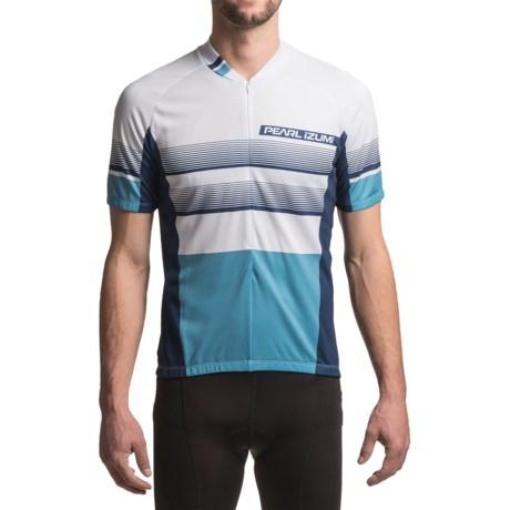 Pearl Izumi SELECT LTD Cycling Jersey - UPF 50+, Short Sleeve (For Men) in Splitz Blue X 2
