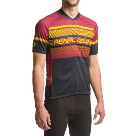 Pearl Izumi SELECT LTD Cycling Jersey - UPF 50+, Short Sleeve (For Men) in Subline Tibetan Red - Closeouts
