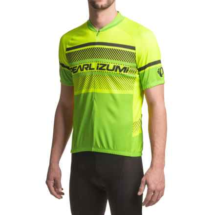 Pearl Izumi SELECT LTD Cycling Jersey - UPF 50+, Short Sleeve (For Men) in Subline Viz - Closeouts