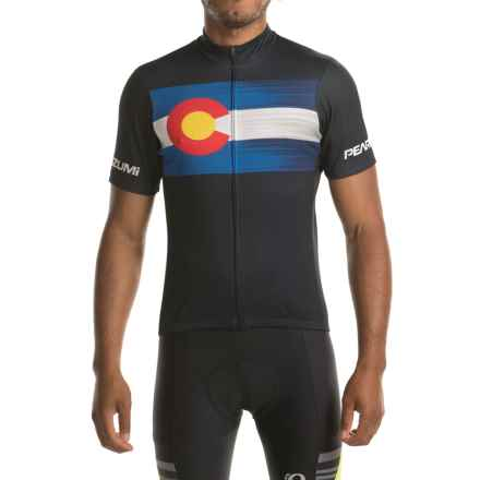 Pearl Izumi SELECT LTD Cycling Jersey - UPF 50+, Zip Front, Short Sleeve (For Men) in Homestate 2017 - Closeouts