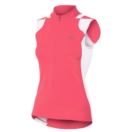Pearl Izumi Select Print Cycling Jersey - Sleeveless (For Women) in Paradise Pink