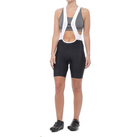 Pearl Izumi SELECT Pursuit Attack Bib Bike Shorts (For Women) in Black Texture