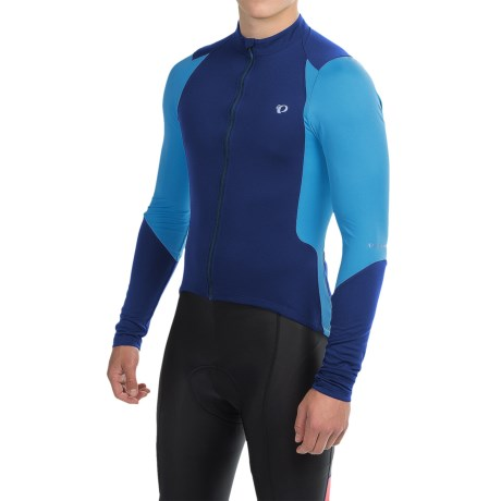 Pearl Izumi SELECT Pursuit Cycling Jersey - Full Zip, Long Sleeve (For Men) in Blue X 2