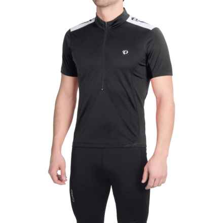 Pearl Izumi SELECT Quest Cycling Jersey - Zip Neck, Short Sleeve (For Men) in Black - Closeouts