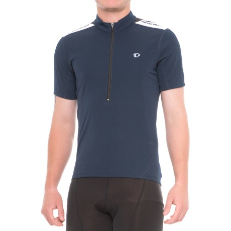 Pearl Izumi SELECT Quest Cycling Jersey - Zip Neck, Short Sleeve (For Men) in Eclipse Blue