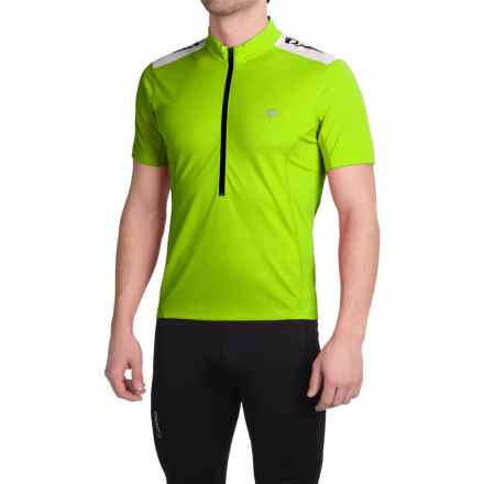 Pearl Izumi SELECT Quest Cycling Jersey - Zip Neck, Short Sleeve (For Men) in Screaming Yellow - Closeouts