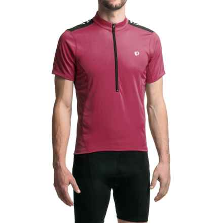 Pearl Izumi SELECT Quest Cycling Jersey - Zip Neck, Short Sleeve (For Men) in Tibetan Red - Closeouts