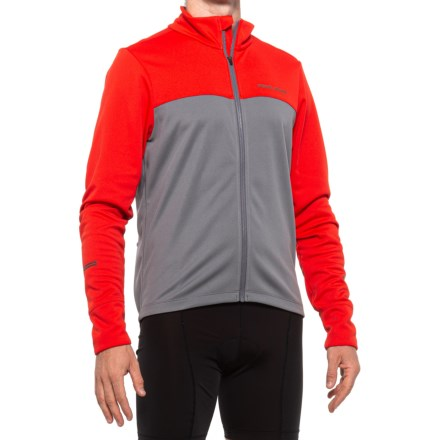 Small PEARL IZUMI Mens Quest AmFIB Cycling Jacket Torch Red//Smoked Pearl