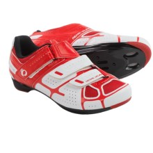 Pearl Izumi Select RD III Cycling Shoes - 3-Hole, SPD (For Men) in White/True Red - Closeouts