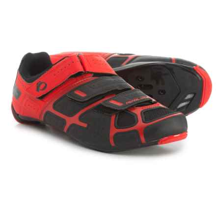 Pearl Izumi Select RD IV Cycling Shoes - 3-Hole, SPD (For Men) in Black/True Red - Closeouts
