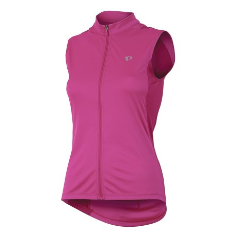 Pearl Izumi SELECT SL Cycling Jersey - UPF 50, Sleeveless (For Women) in Berry
