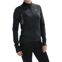 Pearl Izumi SELECT Sugar Print Thermal Cycling Jersey - Full Zip, Long Sleeve (For Women) in Black - Closeouts