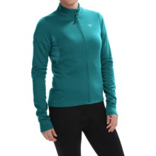 Pearl Izumi SELECT Sugar Print Thermal Cycling Jersey - Full Zip, Long Sleeve (For Women) in Deep Lake - Closeouts
