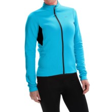 Pearl Izumi SELECT Sugar Thermal Cycling Jersey - Long Sleeve (For Women) in Blue Atoll - Closeouts