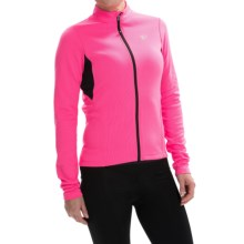Pearl Izumi SELECT Sugar Thermal Cycling Jersey - Long Sleeve (For Women) in Screaming Pink - Closeouts