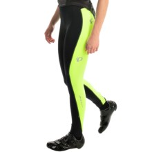 Pearl Izumi SELECT Sugar Thermal Cycling Tights (For Women) in Black/Screaming Yellow - Closeouts