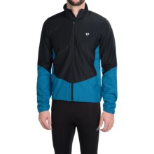 Pearl Izumi SELECT Thermal Barrier Cycling Jacket (For Men) in Black/Mykonos Blue - Closeouts