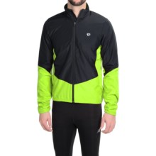 Pearl Izumi SELECT Thermal Barrier Cycling Jacket (For Men) in Black/Screaming Yellow - Closeouts