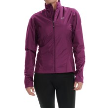 Pearl Izumi SELECT Thermal Barrier Cycling Jacket (For Women) in Dark Purple - Closeouts