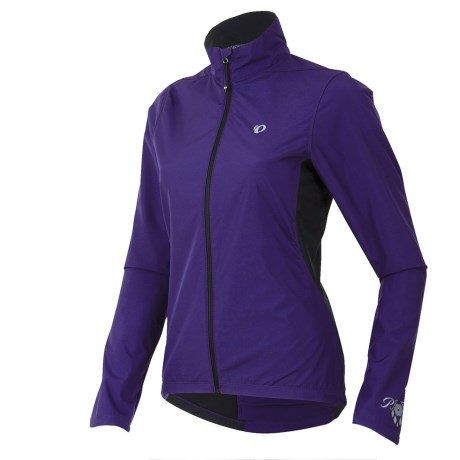 Pearl Izumi Select Thermal Barrier Jacket (For Women) in Blackberry/Blackberry