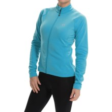 Pearl Izumi SELECT Thermal Cycling Jersey - Full Zip, Long Sleeve (For Women) in Blue Atoll - Closeouts