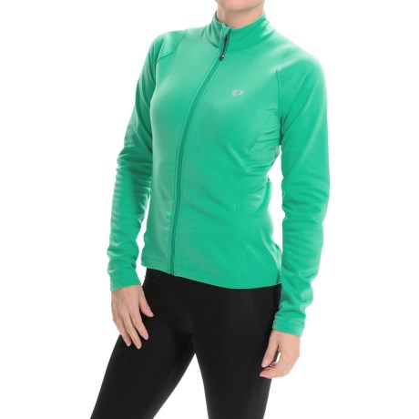 Pearl Izumi SELECT Thermal Cycling Jersey Full Zip, Long Sleeve (For Women)