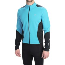 Pearl Izumi SELECT Thermal Cycling Jersey - Long Sleeve (For Men) in Blue Atoll/Black - Closeouts