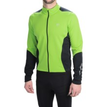 Pearl Izumi SELECT Thermal Cycling Jersey - Long Sleeve (For Men) in Green Flash/Black - Closeouts