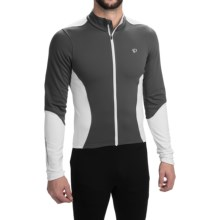 Pearl Izumi SELECT Thermal Cycling Jersey - Long Sleeve (For Men) in Shadow Grey/White - Closeouts